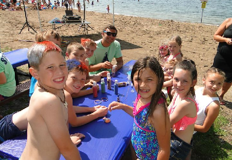 Sand Point Beach Parties