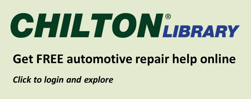 Chiltons Library Get free automotive repair help online