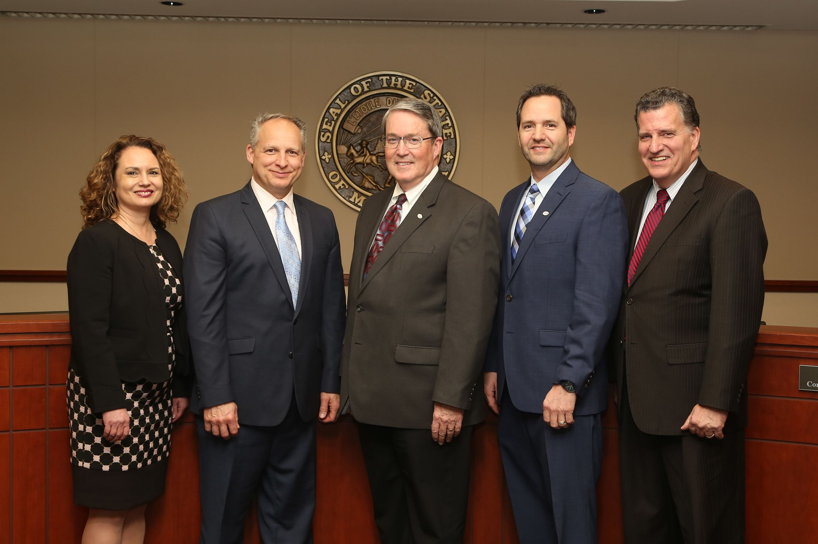 2017 Scott County Board of Commissioners